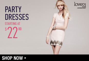 Love21: Party Dresses - Shop Now