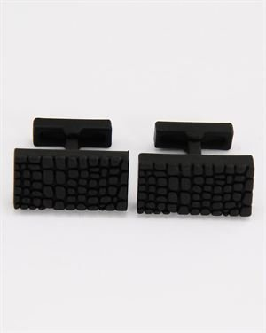 Kenneth Cole Textured Cuff Links