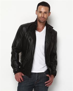 Urban Behavior Men's Genuine Sheep Leather Jacket