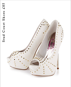 Stud Court Shoes