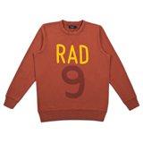 Paul Smith Tops - Red Rad Print Sweatshirt