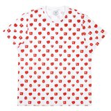 Paul Smith And Talking Heads Collaboration - White Remain Repeat Print T-Shirt