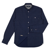 Paul Smith Shirts - Navy Cross Print Shirt