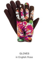Gloves in English Rose
