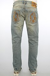The Classic Helmet 5 Pocket Jeans in Daylong Wash