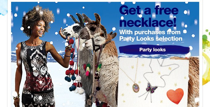 Get a free necklace!