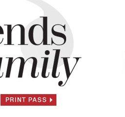 F & F Print Pass