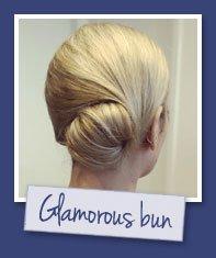 Glamorous bun