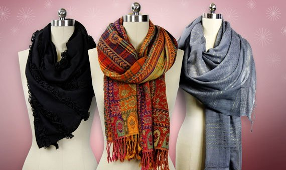 Comfy Cozy: Scarves by Saachi- Visit Event