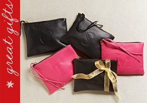 Gift Like A Pro: Monogrammed Pouches from Jesse & Co.