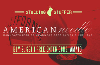 Stocking Stuffer: American Needle Hats