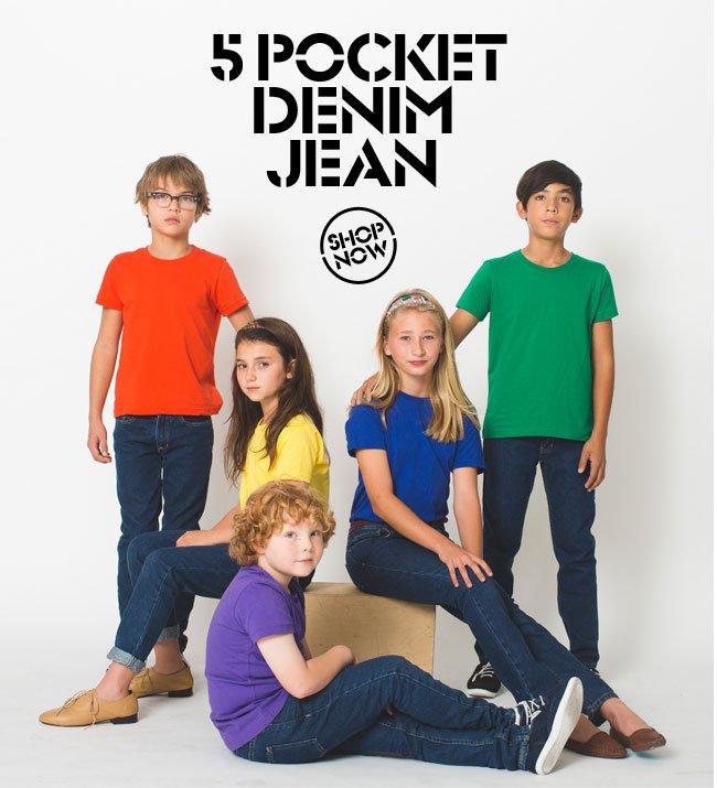 5 Pocket Denim Jean