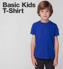 Basic Kids T Shirt