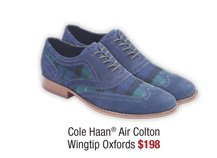 Cole Haan® Air Colton Wingtip Oxfords