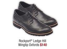 Rockport® Ledge Hill Wingtip Oxfords