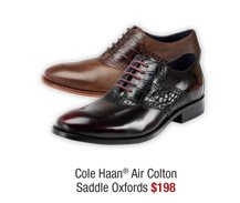 Cole Haan® Air Colton Saddle Oxfords