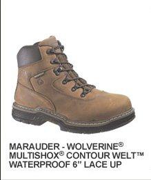 """Marauder Wolverine Multishox Contour Welt Waterproof 6"""""""