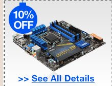 10% OFF SELECT MSI MOTHERBOARDS!*