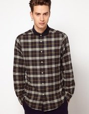 Plectrum by Ben Sherman Check Shirt