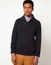 Hilfiger Denim Shawl Collar Jumper