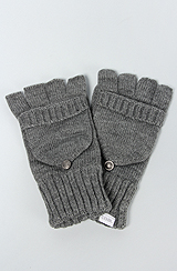 The Woodsmen Gloves in Charcoal
