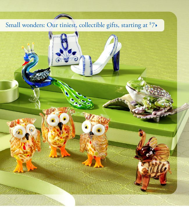 Small wonders: Our tiniest, collectible gifts, starting at $7