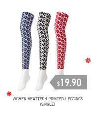 WOMEN HEATTECH PRINTED LEGGINGS (single)