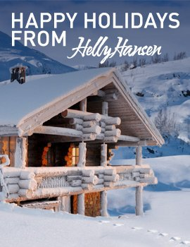 Happy Holidays - Helly Hansen