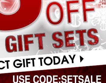 25% Off Designer Gift Sets USE CODE: SETSALE