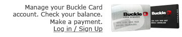 Manage Your Buckle Card Account