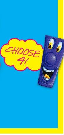 CHOOSE 4!