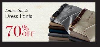 Dress Pants - 70% OFF*
