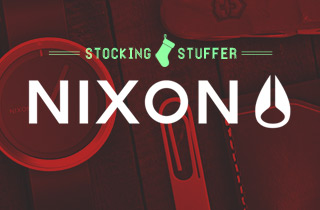 Stocking Stuffer: Nixon