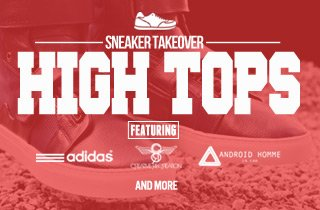 Sneaker takeover: High tops