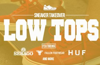 Sneaker takeover: Low tops