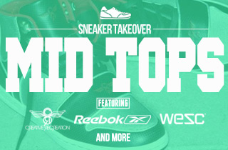 Sneaker takeover: Mid tops