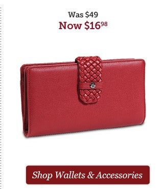 Shop Wallets and Accessories