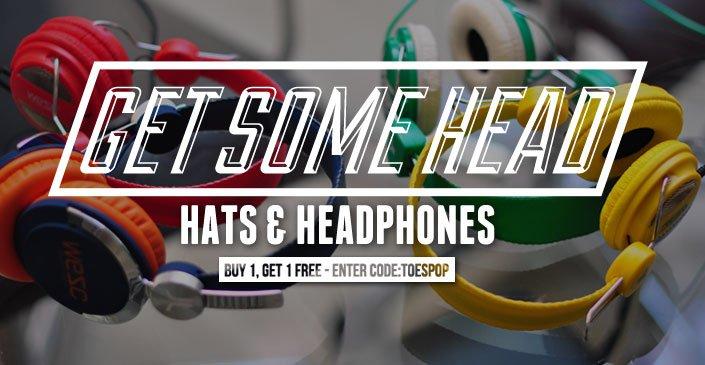 Get Some Head : Hats & Headphones