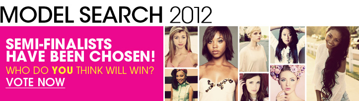 Model Search 2012 - Vote Now