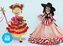 From Cuddly to Collectible Girls' Dolls