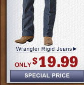 Mens Wrangler Rigid