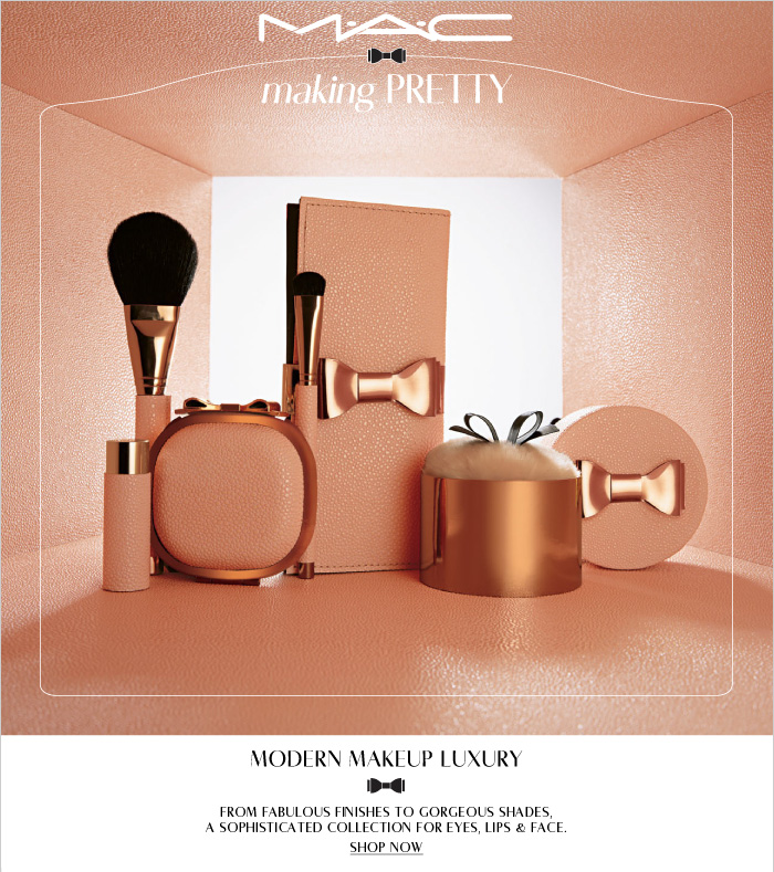 From fabulous finishes to gorgeous shades, a sophisticated collection for eyes, lips & face.  SHOP NOW