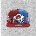 Colorado Avalanche Split Snapback Hat