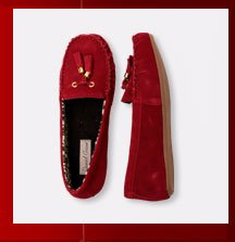 Shop Red Slippers