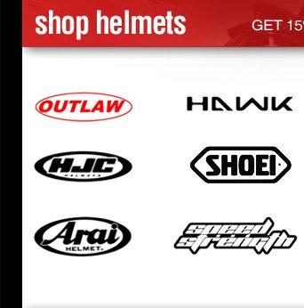 Shop Motorcycle Helmets - Get 15% Cashback on all brands.