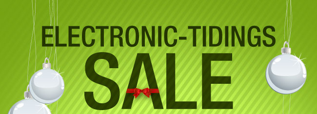 ELECTRONIC-TIDINGS SALE