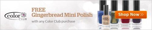 Gingerbread Mini Nail Polish