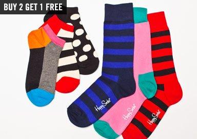 Shop Patterns & Polka Dots ft Happy Socks