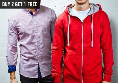 Shop Layer Up: Hoodies, Wovens & Thermals