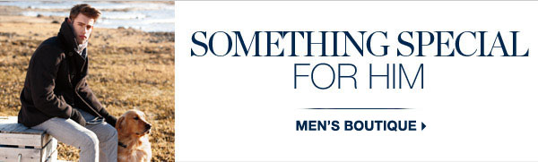 SOMETHING SPECIAL FOR HER | SHOP MEN
